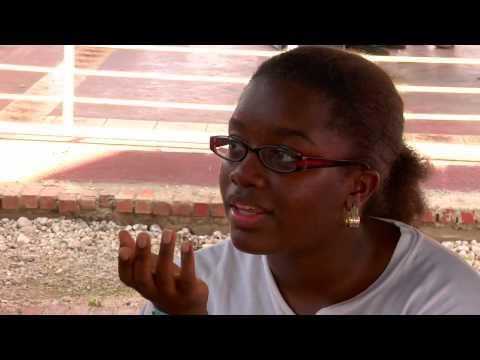 The day of the Haiti earthquake