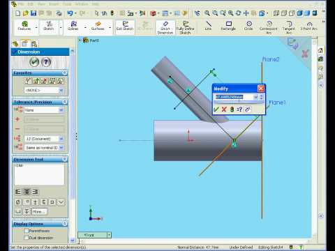 solidworks surface design tutorial