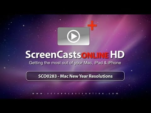 Trailer for SCO0283- Mac New Year Resolutions