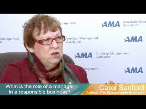 Three Questions for Carol Sanford