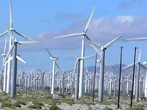San Gorgonio Pass Wind Farm North of Palm Springs, California