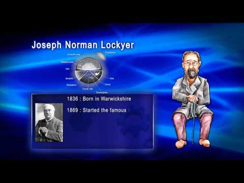 Top 100 Greatest Scientist in History For Kids(Preschool) - JOSEPH NORMAL LOCKYER