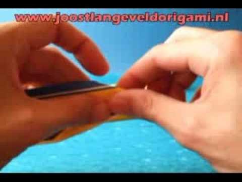 Origami Speedboat