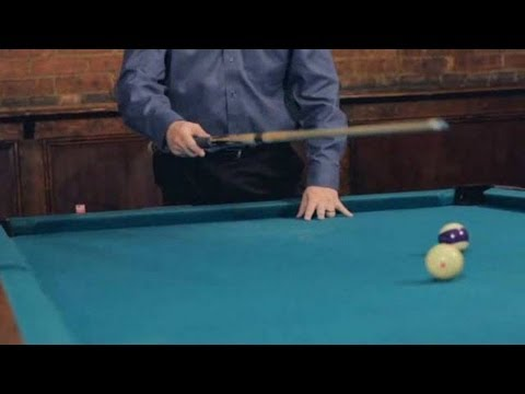 Pool Trick Shots / Fundamentals: Stopping the Cue Ball