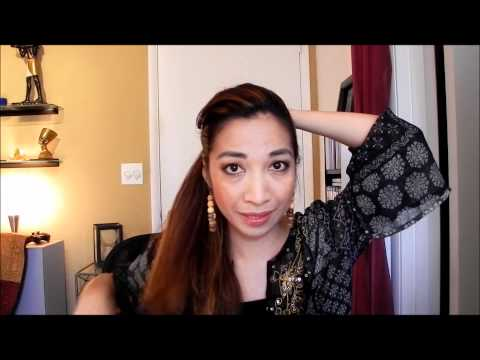 Sassy Braided Ponytail, My Funny Hair Story, Update on 1st Giveaway