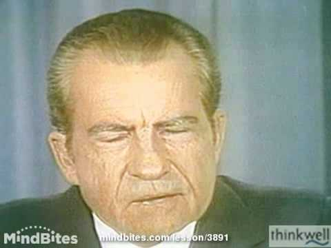 Public Speaking: Richard M. Nixon