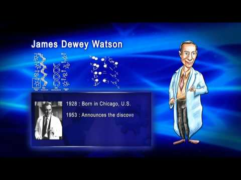 Top 100 Greatest Scientist in History For Kids(Preschool)  - JAMES DEWEY WATSON