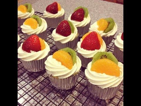 Part 2 of how to make fruit filled sponge cake