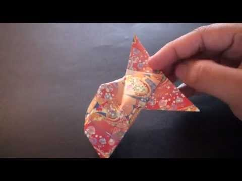 Origami Daily - 221: Goldfish (Inflatable) - TCGames [HD]