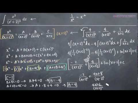 Partial Fractions - Repeated Linear Factors