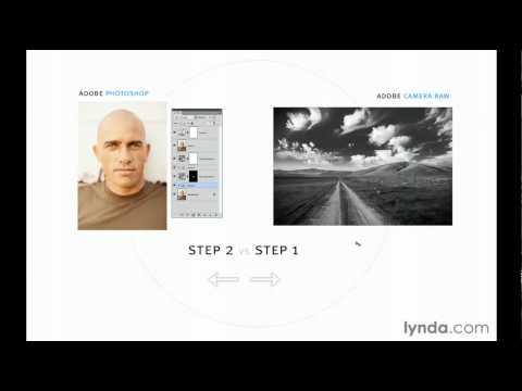 Should I use Adobe Camera Raw or Photoshop? from lynda.com