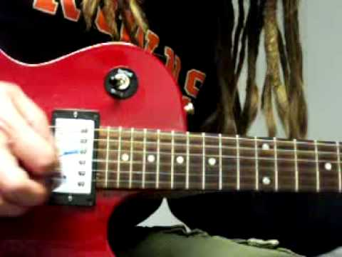 You Shook Me All Night Long Solo Lesson Part 1