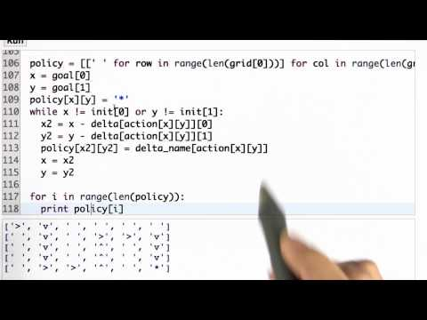 Print Path Solution - CS373 Unit 4 - Udacity