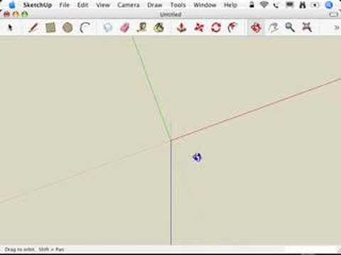 SketchUp: Switching to a 2D view