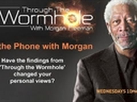 Through The Wormhole- Interview with Morgan Freeman 1