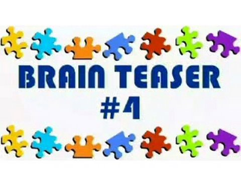 Video Brain Teaser #4