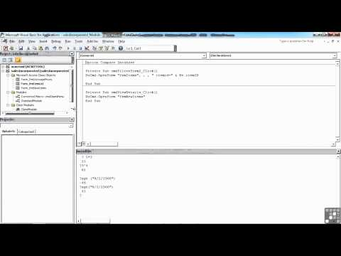 Visual Basic for Access Tutorial | Convert Macro to Code | InfiniteSkills