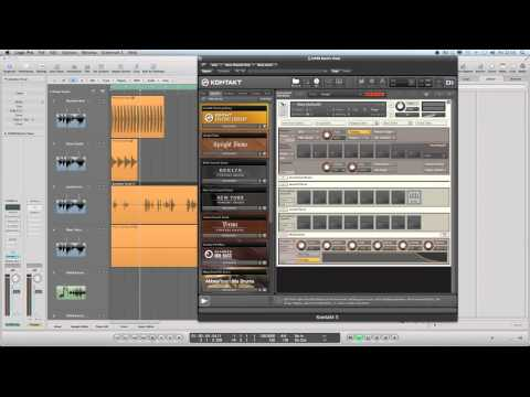 Using Soundflower and Kontakt for Sampling and Manipulating Audio