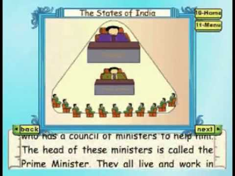 States Of India - Kids Animation Learn Series