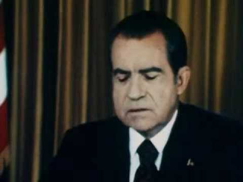 Nixon's Address On Watergate, 1973