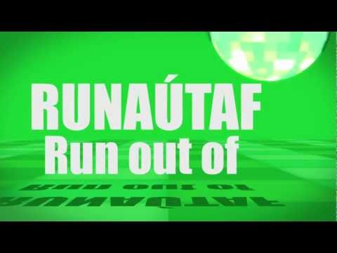 Pronunciation - #52 Run out of (RUNAÚTAF)
