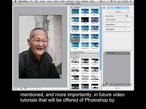 Photoshop CS5 Closed Captioned - Intro to Filters
