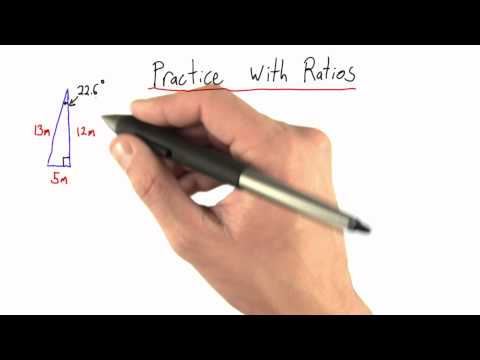 Practice with Ratios - Intro to Physics - Circumference of Earth - Udacity