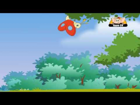 Nursery Rhyme -  Butterfly Butterfly Flutter