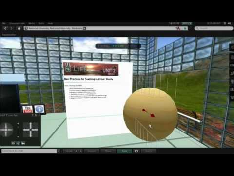 Second Life Teaching Tools: Shared Media (Web on a Prim)