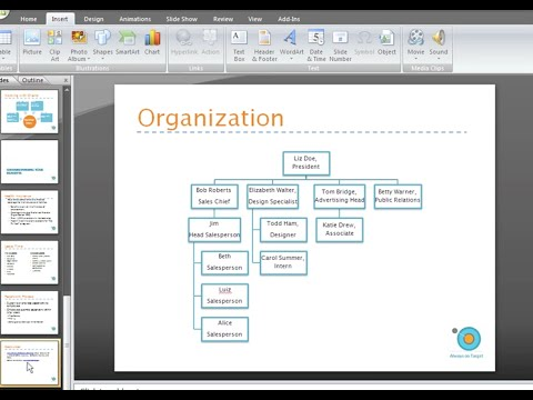 PowerPoint 2007: Hyperlinks and Action Buttons Part 1