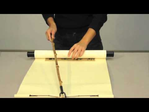 Safe Handling Practices for Chinese Hanging Scrolls
