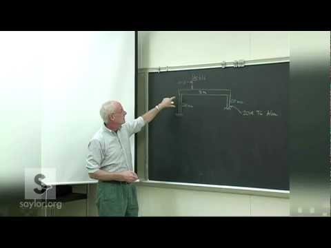 Saylor ME102: Mechanics of Materials- Strain
