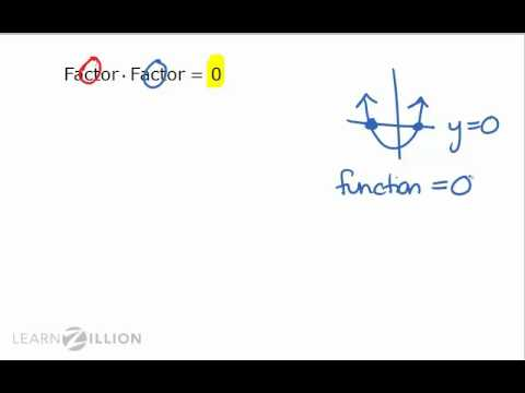 Solve a quadratic equation by factoring - A-REI.4