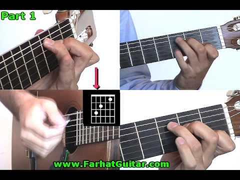 Yellow submarine Beatles Guitar lesson Part 1 www.FarhatGuitar.com