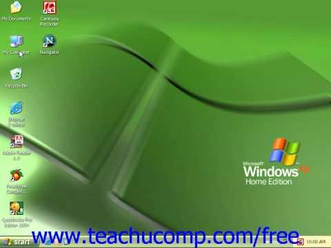 Windows XP Tutorial The Windows Environment Microsoft Training Lesson 1.2
