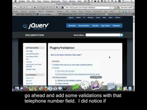 PHP & Javascript Closed Captioned - Form Validation part 2