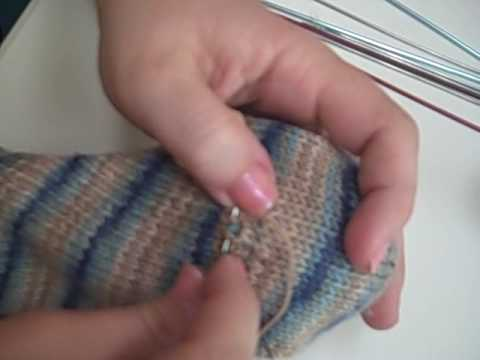 "Sock Darning - ""The Accidental Hole,"" part 2"