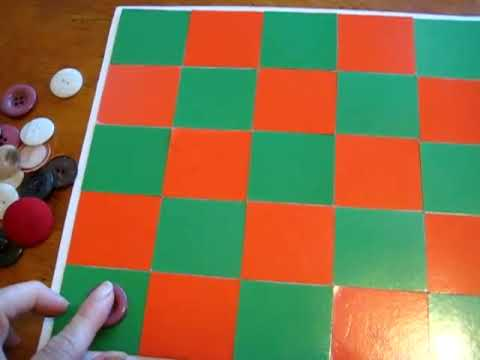 Preschool - Reading. Checkers game