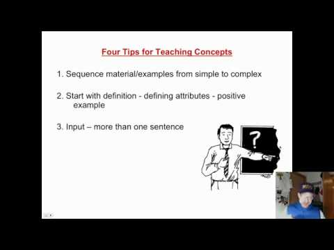 Saylor PSYCH303: Concepts 3 Tips for Teaching