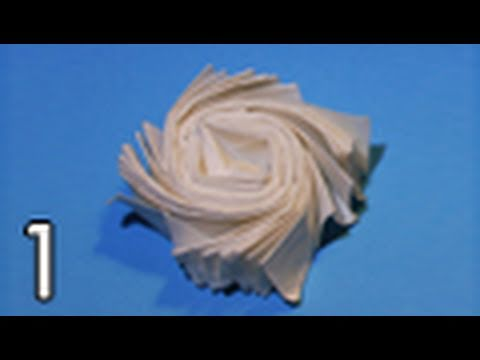 Origami Flasher by Jeremy Shafer (Folding Instructions) ~Part One~