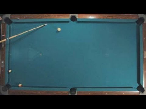 Pool Trick Shots / Fundamentals: Cue Ball Direction Control