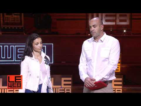Opening remarks Geraldine & Loic Le Meur, LeWeb Founders - LeWeb London 2012 - Plenary 1