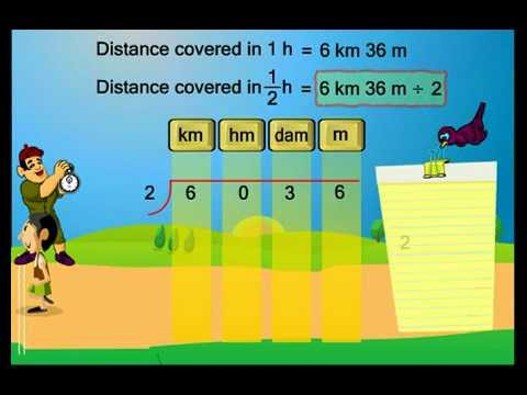 Unit conversion - Class IV Maths