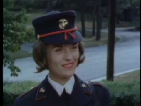 Serving America As A Woman Marine (1964)
