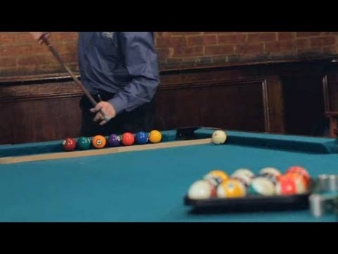 Pool Trick Shots / TV Shots: Blur Jump