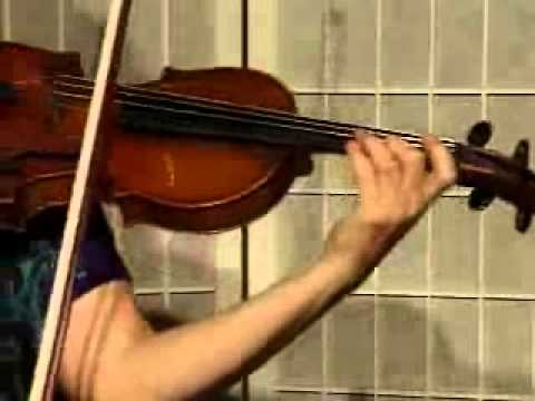 "Violin Song Demonstration - Main Melody to Vivaldi's "" Winter"" from The Four Seasons"