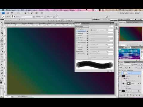 Photoshop Tutorial : How to make Digital Bokeh   Very Cool colourful effect