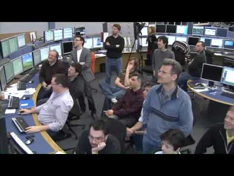 Video News release: LHC sets new world record at 3.48 TeV energy