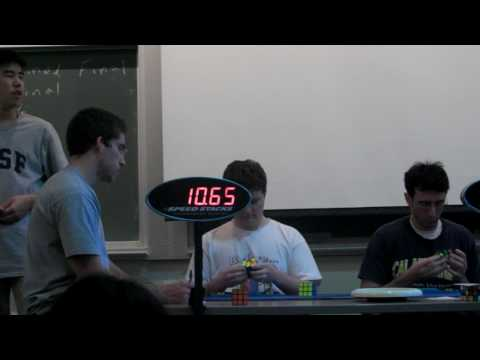 Offical 3x3x3 Solve: 15.91 Seconds: Berkeley 2010
