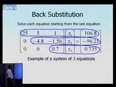 Naive Gaussian Elimination: Theory: Part 2 of 2